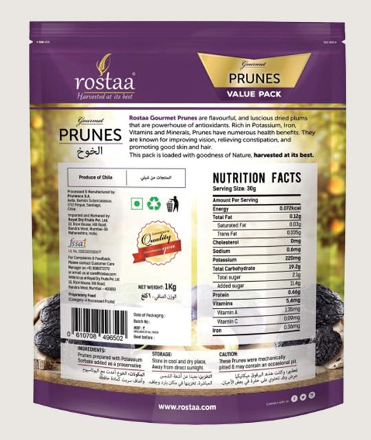 Rostaa Gourmet Prunes cooking item