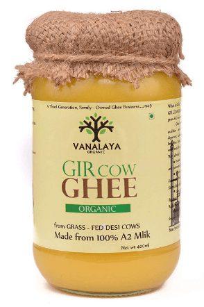 Vanalaya Organic A2 Desi pure Gir Cow ghee