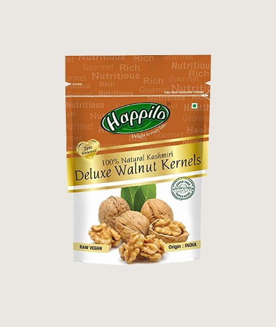 Happilo Deluxe Kashmiri Walnut Kernels 100% Natural