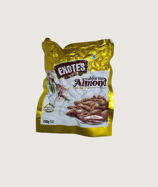 California Exotes Almonds