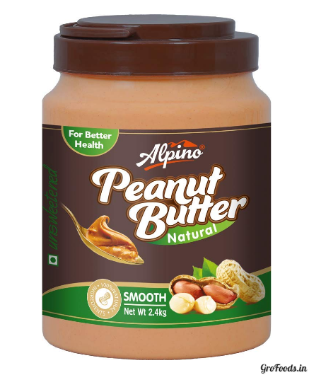 Alpino Natural Peanut Butter for natural mass loss