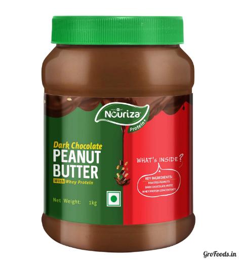 Nouriza Dark Chocolate Peanut Butter for fat loss