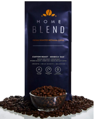 best Roasted Coffee Bean for black coffee in India